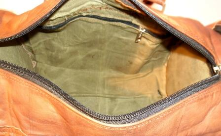 Leather Duffel Bag - Leather Vintage Duffel Bag