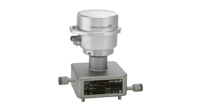 debit mesure produits - debitmetre coriolis proline cubemass C 100