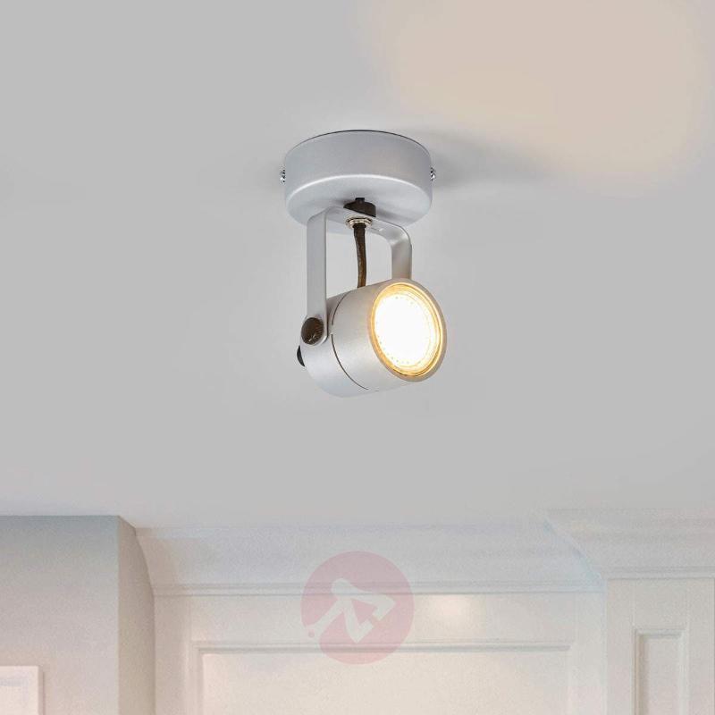 Spot 79 Wall and Ceiling Light 230 V Silvery Grey - Spotlights