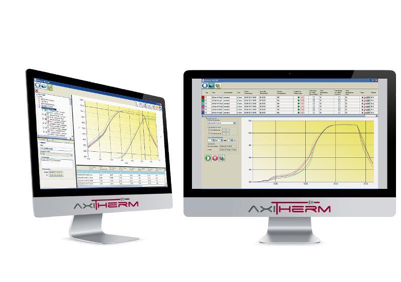 RECCAP pour AXImini / AXImicro - Logiciel d'exploitation de mesures de températures