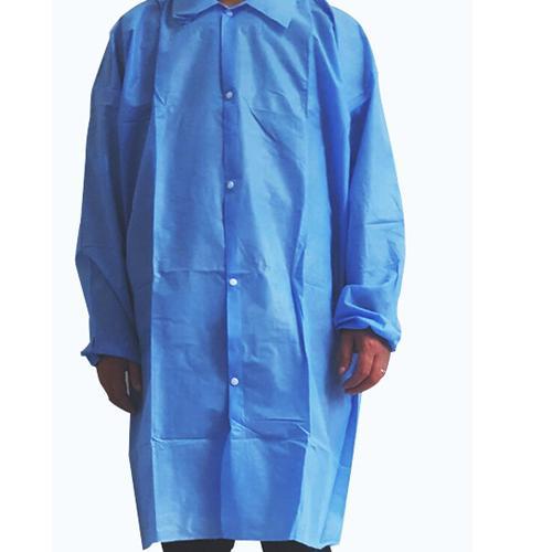 Vestido de laboratorio no tejido -