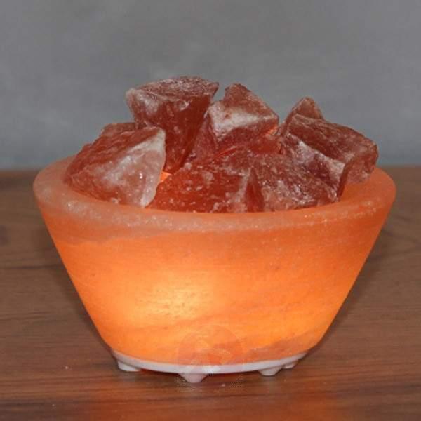 Petite salt bowl - small LED decorative light - null