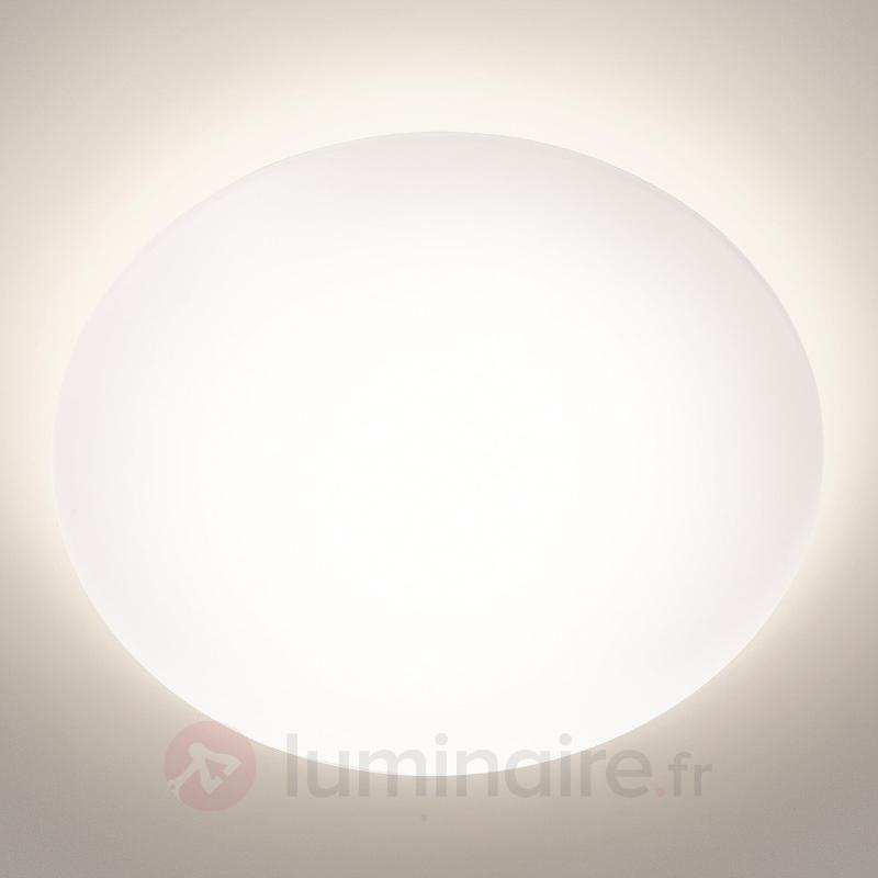 Plafonnier LED Suede blanc - Plafonniers LED