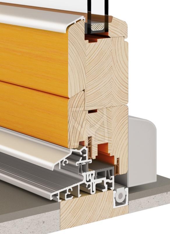 PSK Tilt&Slide Door (Wooden 68|78) - PSK Tilt & Slide Patio Wooden Door