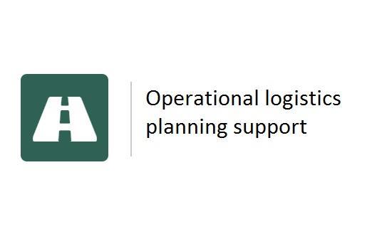 Operational logistics planning support -