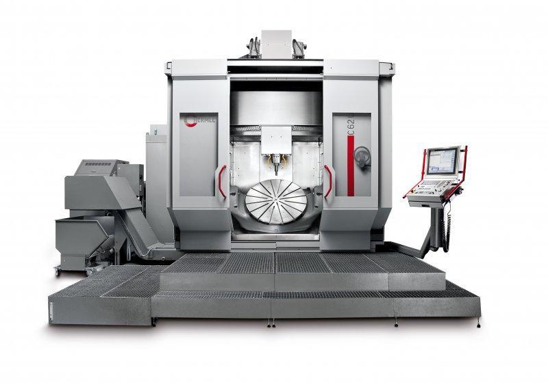 Centro de usinagem C 62 - O centro de usinagem para produção de peças com peso de até 2500 kg