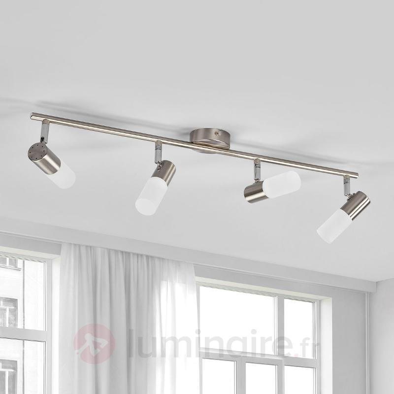 Plafonnier LED à 4 lampes Cristiano - Spots et projecteurs LED
