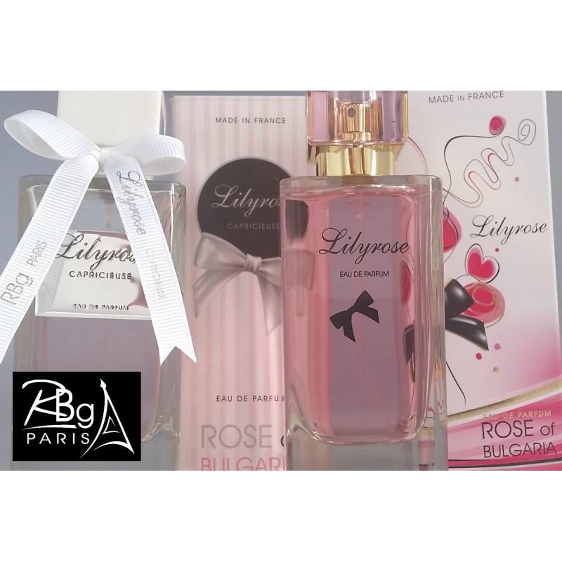 EAU DE PARFUM FEMME LILY ROSE - RBG PARIS