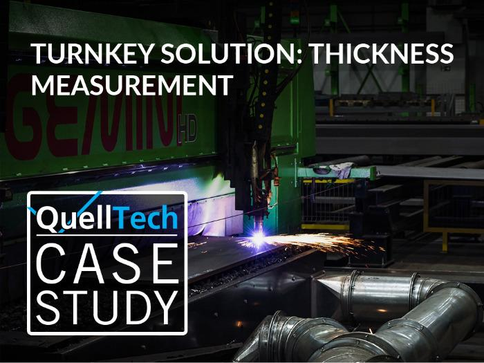 Thickness Measurement  - Turnkey Solution even for glowing materials or wet processes.
