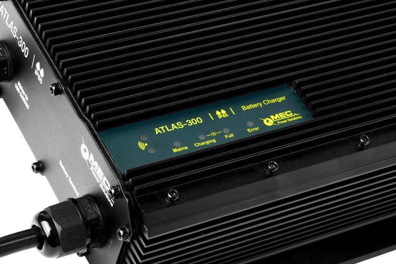 MEC ATLAS-300 IP65 Waterproof Charger - Waterproof Battery Chargers for Lithium-/ Lead-based Batteries