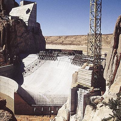 Console de barrage SPK 270 - avec passerelle de ragréage