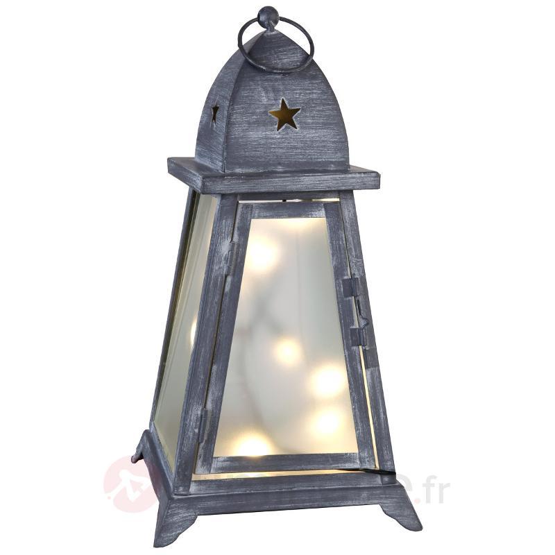 Lanterne de jardin LED Fyris hauteur 40 cm - Lampes décoratives d'extérieur