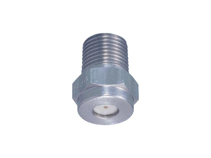 CP series – Standard solid stream jet with ceramic orifice - Hydraulic Nozzles – Solid Stream Jet Pattern
