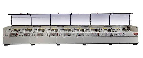 Straight-line multipass wire drawing machines - wire drawing machinery