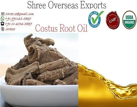 Organic Costus Root Oil - USDA Organic