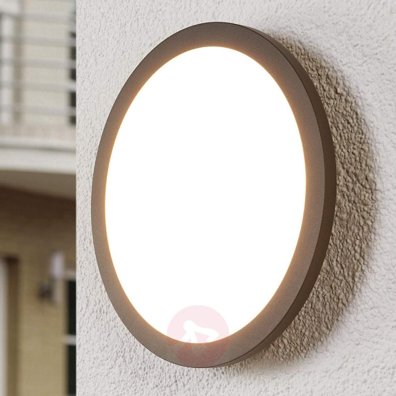 LED outdoor ceiling light Malena with sensor - outdoor-led-lights