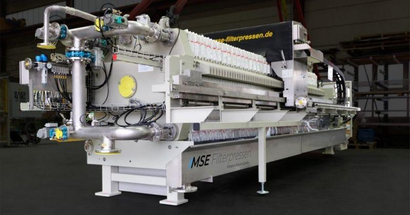 Fully automatic filter press - The fully automatic filter press - Highest automation and highly efficient