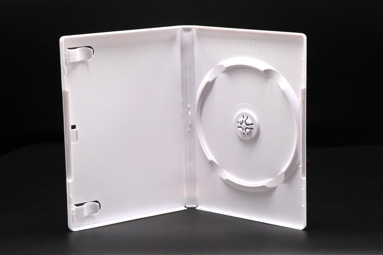 DVD Box für Nintendo WII - 14mm - weiß - kartoniert - Gameboxen