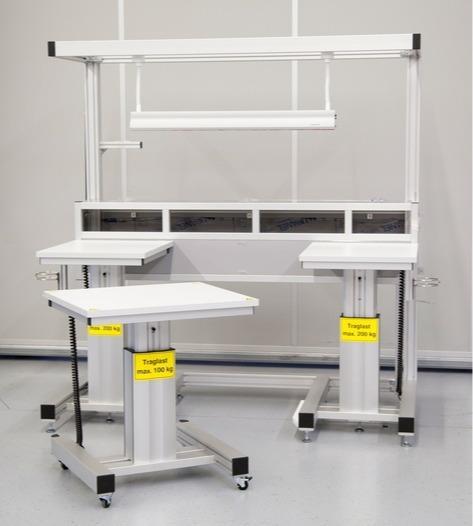 RK Easywork – des systèmes de postes de travail - Postes de montage ergonomiques