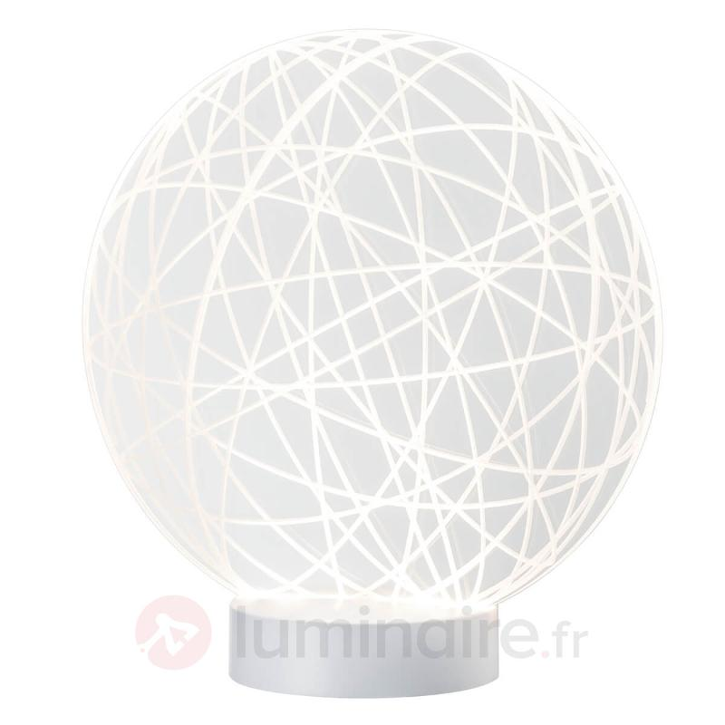 Lampe à poser LED tendance Wool avec effet 3D - Lampes à poser LED