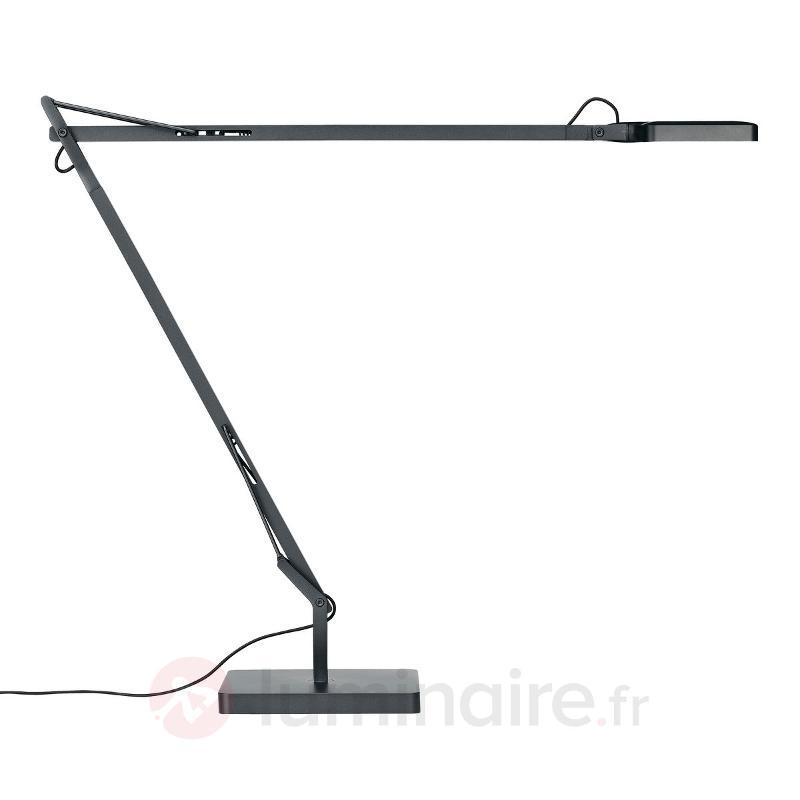 Lampe de bureau LED Kelvin Edge, anthracite - Lampes à poser designs
