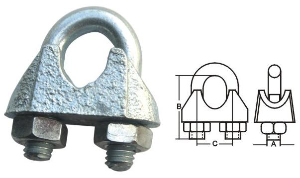 Wire Rope Clip Din741 - null