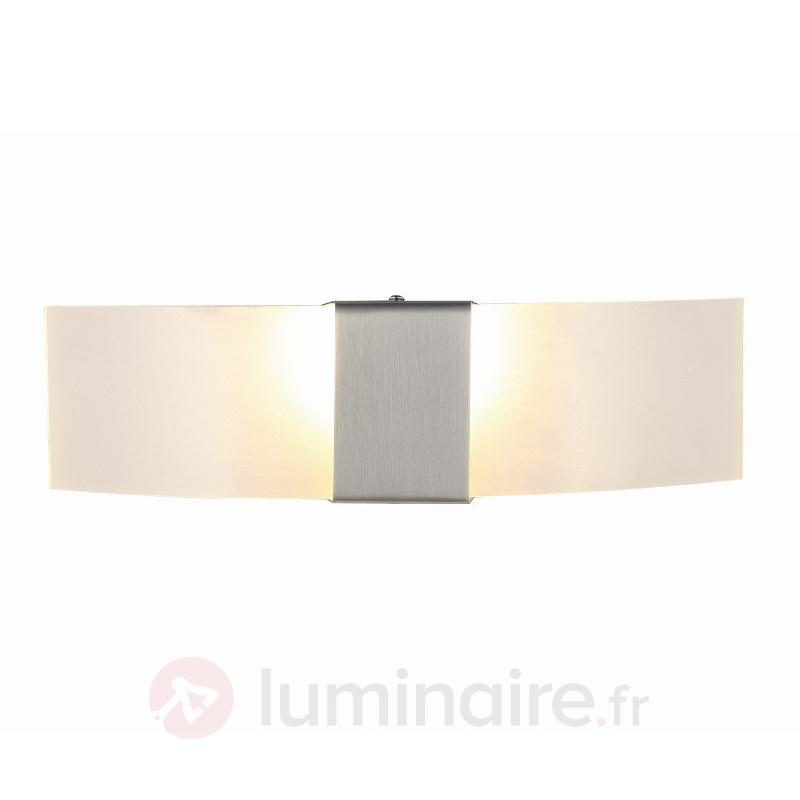 Applique LED décorative Harry, nickel mat - Appliques LED