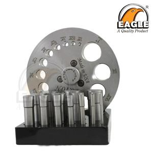 Disc Cutter Round Shape 14 punch with wooden stand