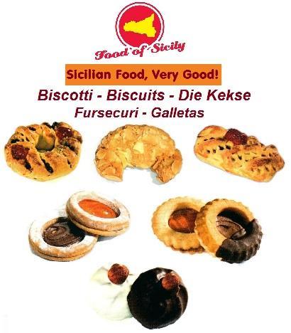 Biscotti vari gusti - Biscotti alle mandorle e/o al burro. Varie referenze e varie forme.