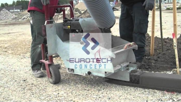 Machine à bordure SCC01 -