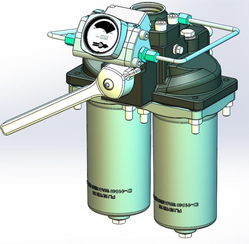 Doppelfilter Typ W-DF-4.221 - null