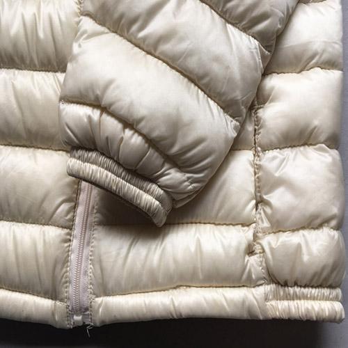 Abrigo para niños - Chaqueta de manga larga de color crema