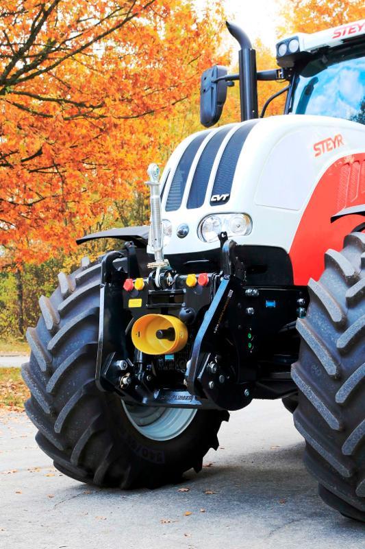 STKVF-Frontsystem f. Case-IH / Steyr / New Holland-Traktoren - null