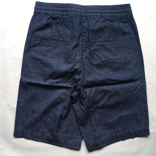 Pantalones cortos de mezclilla para hombres - Pantalones cortos de denim azul