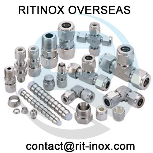 Stainless Steel 904L Union Tee Tube Fittings -