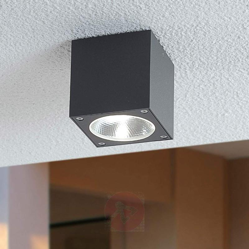 Cube-shaped Cordy LED outdoor light - Outdoor Ceiling Lights