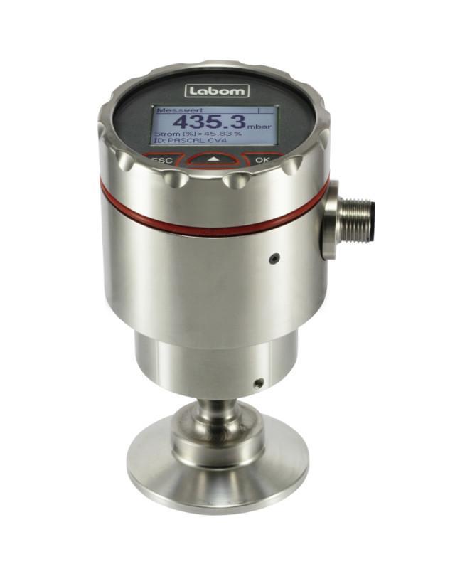 Digital pressure transmitter - PASCAL CV4 - PASCAL CV4 - Pressure transmitter with intuitive operation in hygienic design