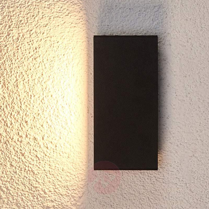 Homogeneous LED outdoor wall light Elies - Outdoor Wall Lights