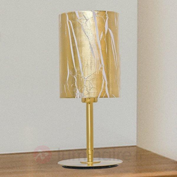Lampe à poser exceptionnelle Strapo - Lampes à poser classiques, antiques