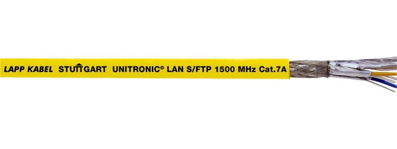 Cable de datos de la categoría 7A, clase FA - Cable de datos de la categoría 7A, clase FA - probado hasta 1500 MHz