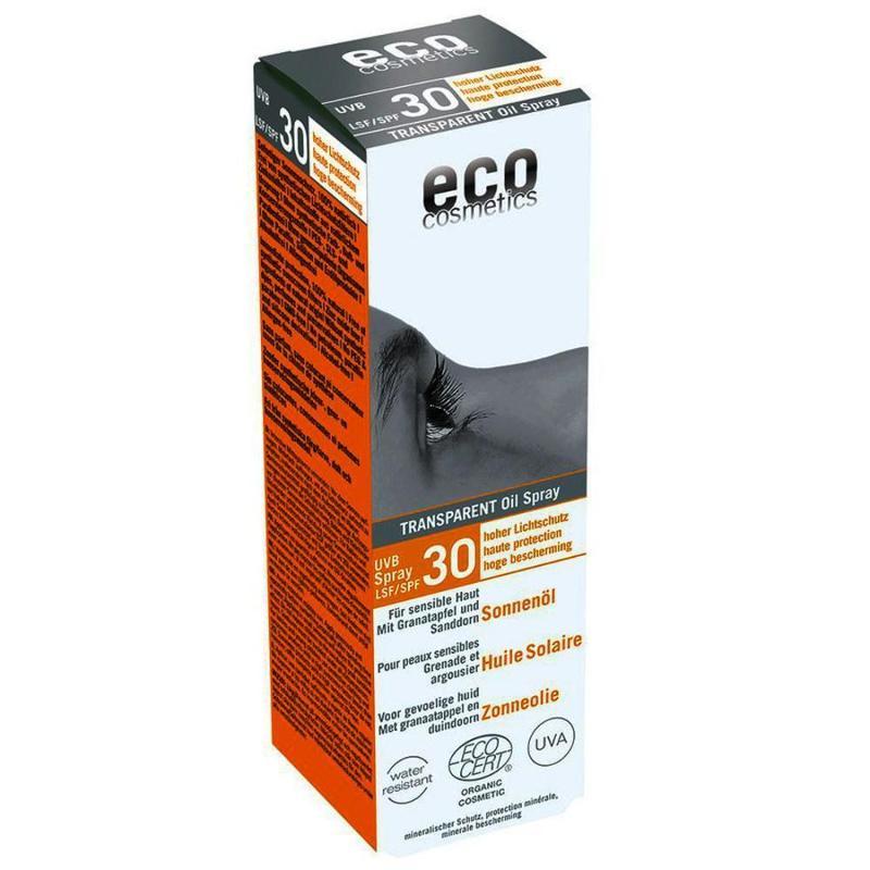 ECO Sonnenöl LSF 30 - 50ml transparent mit Granatapfel... - null