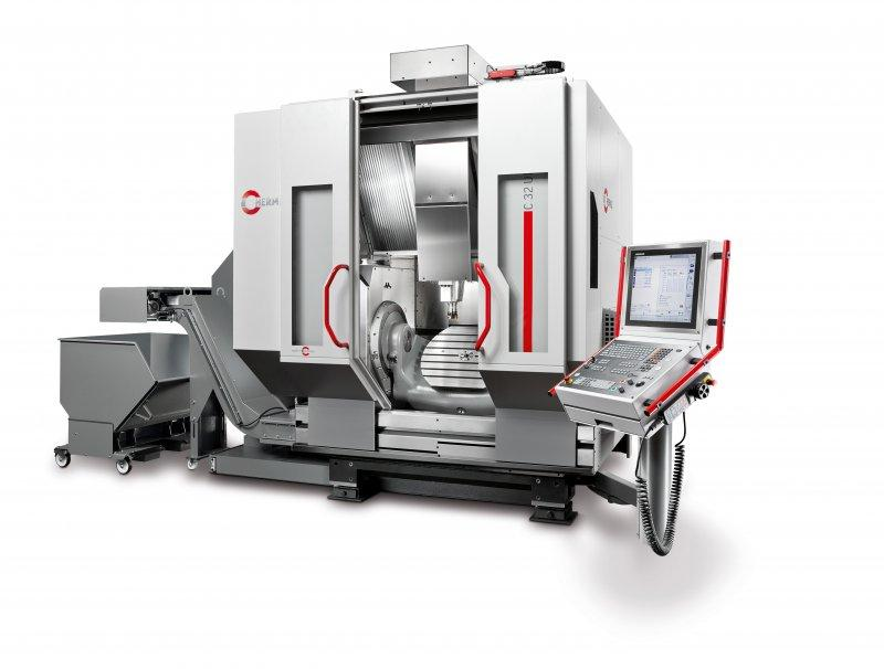 Machining centre C 32 - The C 32 - designed for daily use & with the greatest possible workload in mind