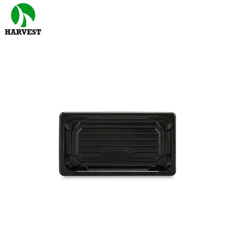 Harvest Hp-01 Small Disposable Plastic Sushi Containers - Sushi Trays