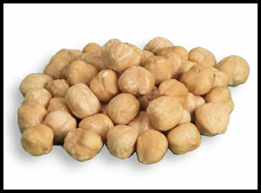 Roasted whole kernels -