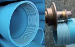 Puits d'eau - Outils - Tubes et filtres en PVC pour puits