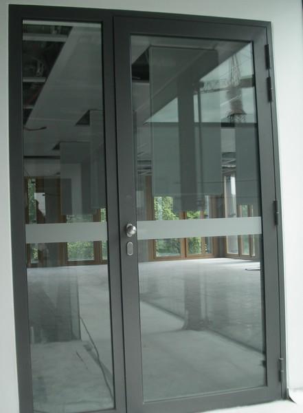 R frig rateur avec porte vitr e entreprises for Double porte salon vitree