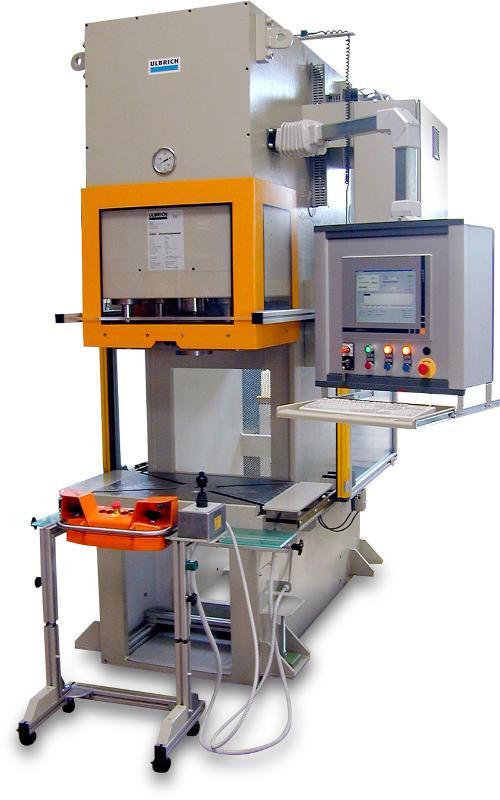 C-frame assembly presses