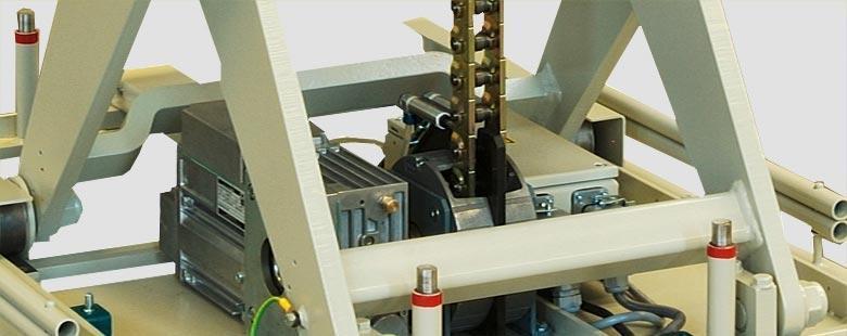 Push-chain lift platforms - Chain-Line