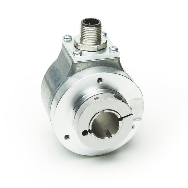 Inkrementalgeber IH5815 - Inkrementalgeber IH5815, robuster optischer Standard Drehgeber, Hohlwelle