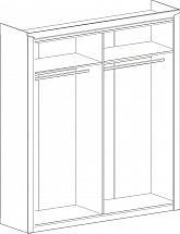 "Wardrobe 4 Doors ""Sorento"" Stirling Oak - Bedroom furniture"